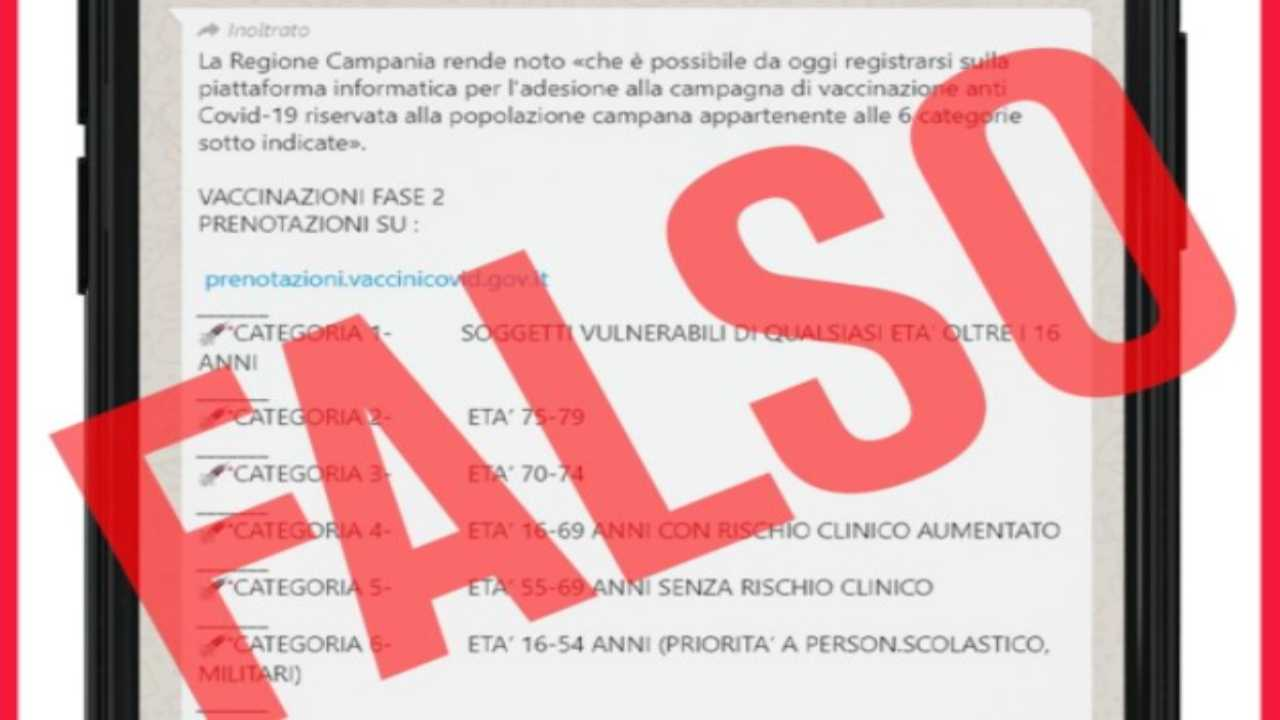 vaccini Campania