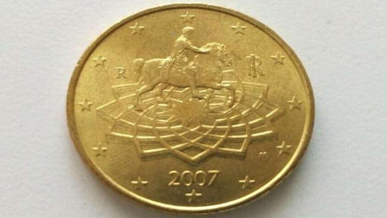 moneta 50 centesimi rara