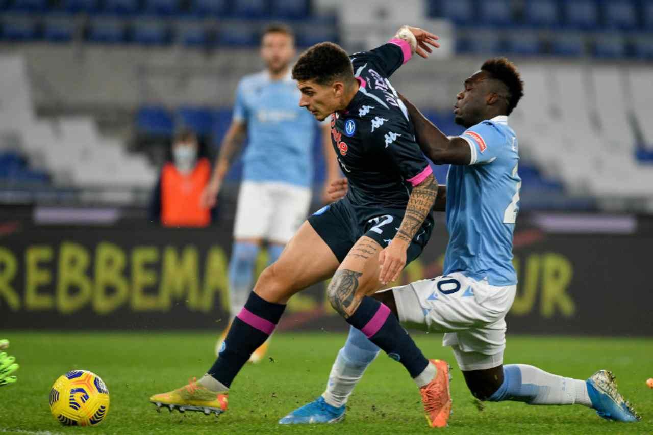 Napoli Lazio streaming gratis