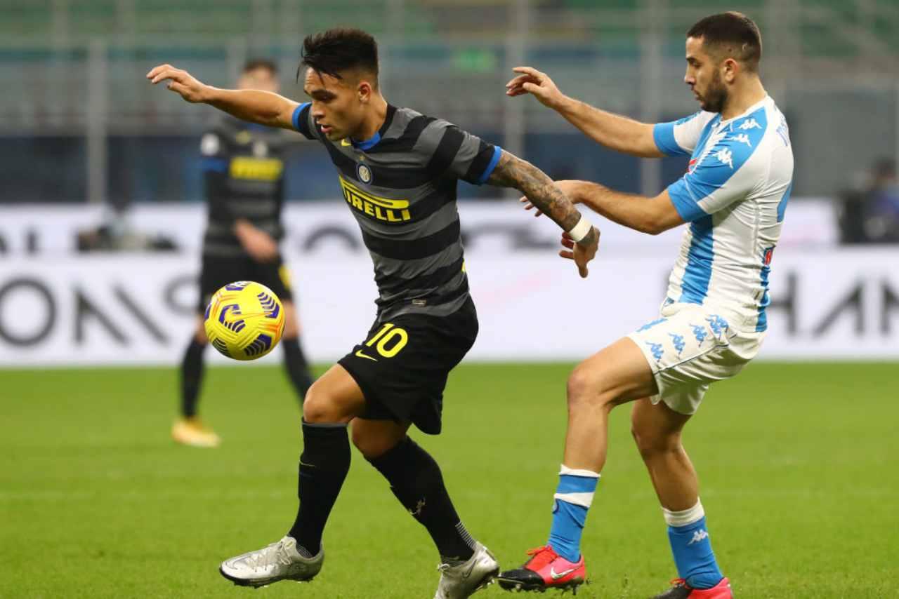 Napoli Inter streaming gratis