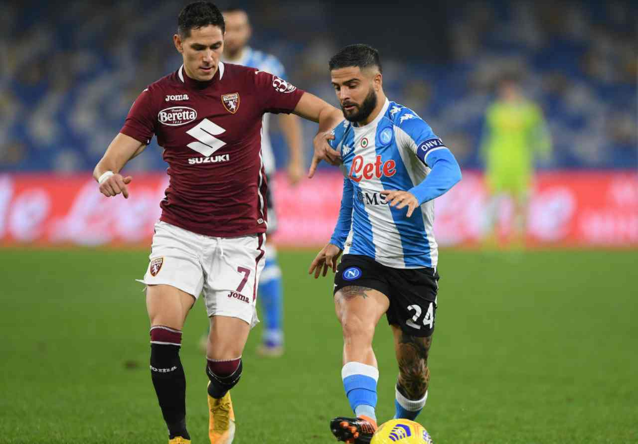 Torino Napoli streaming gratis