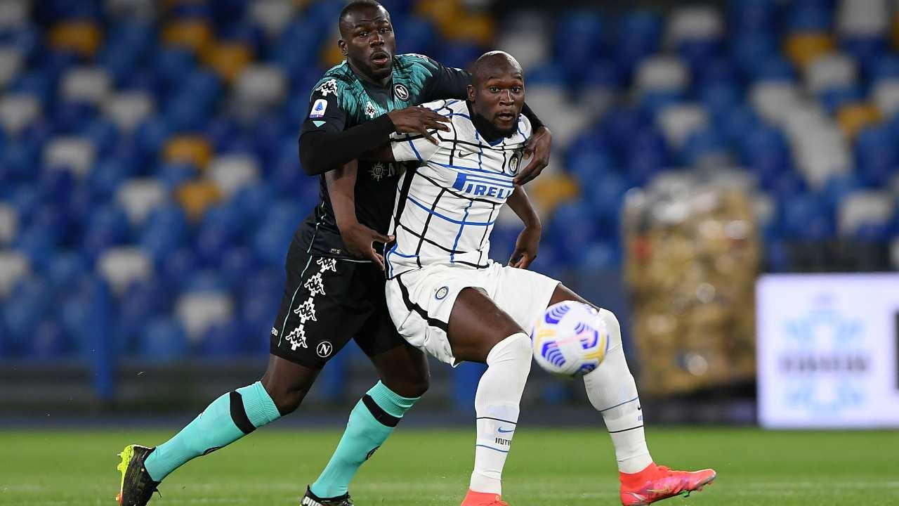 Napoli Inter highlights