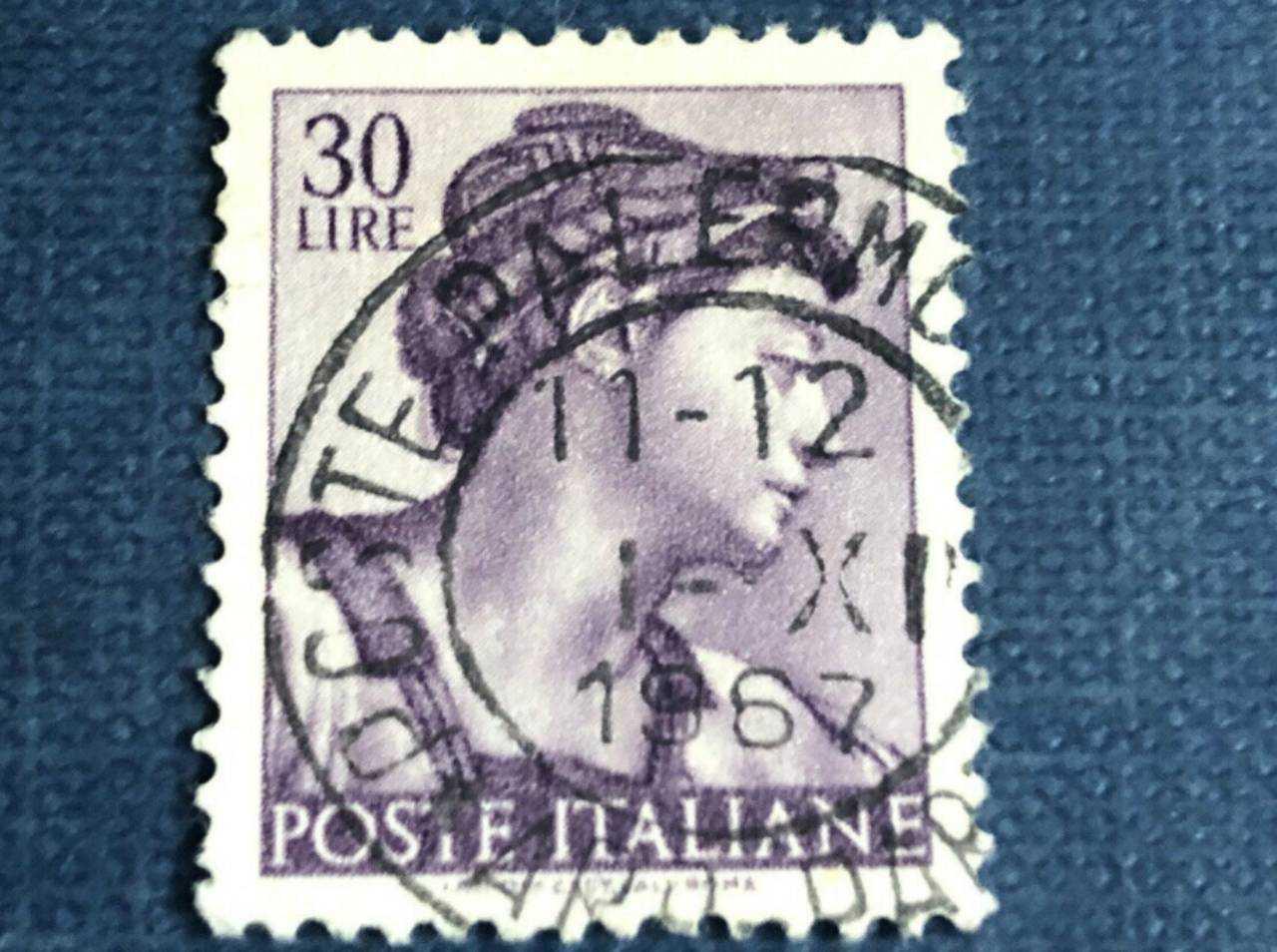 Francobollo Repubblica Italiana