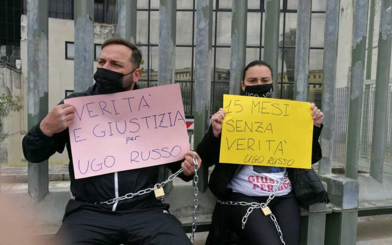 Rapinatore morto a Napoli