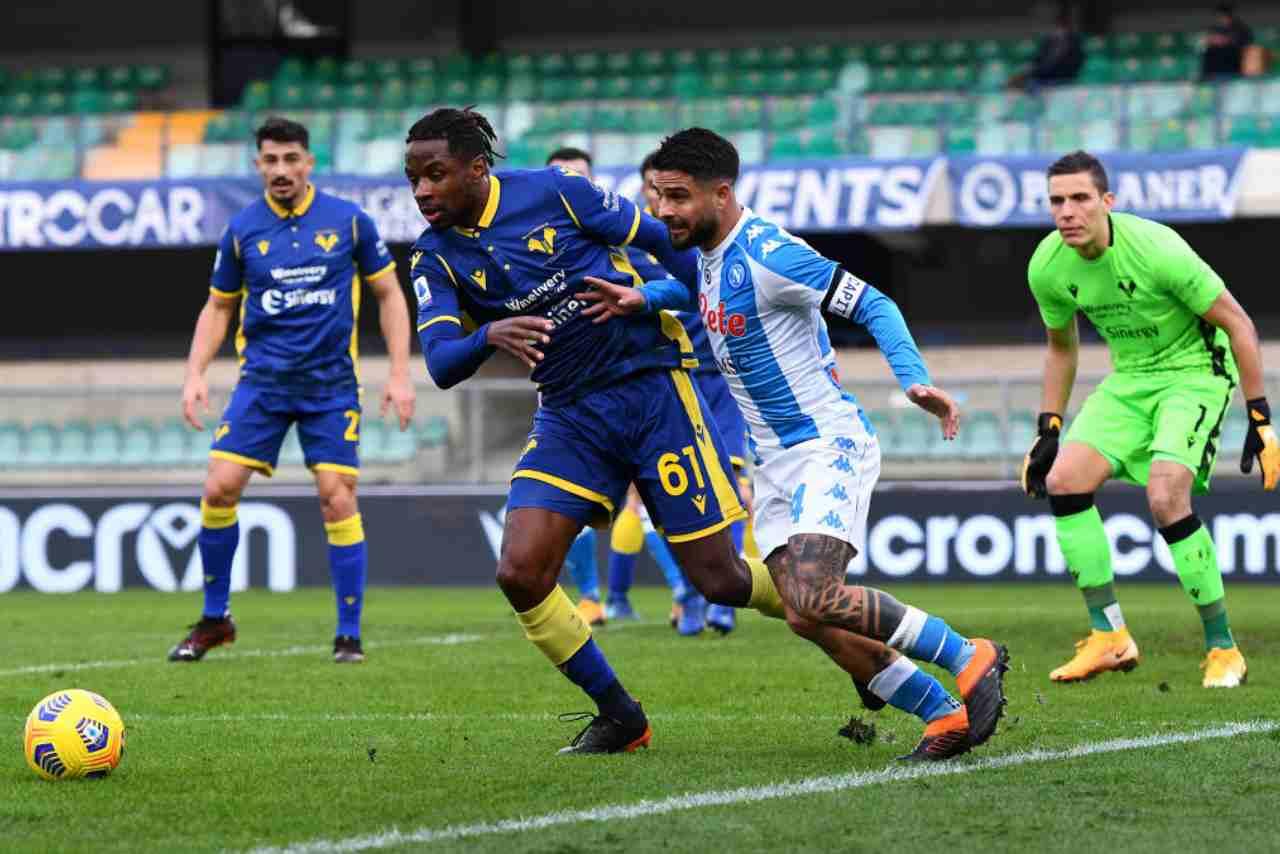 Napoli Verona streaming gratis