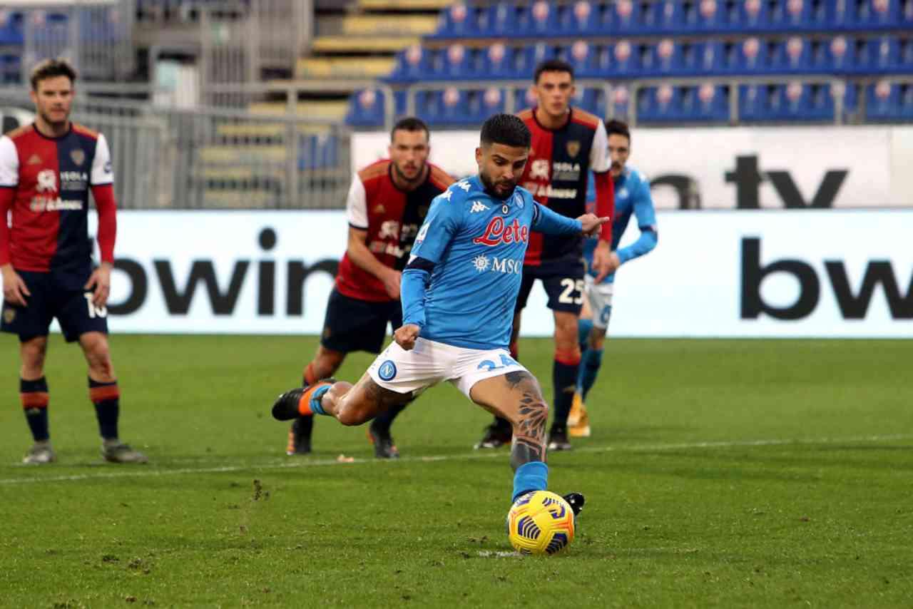 Napoli Cagliari streaming gratis