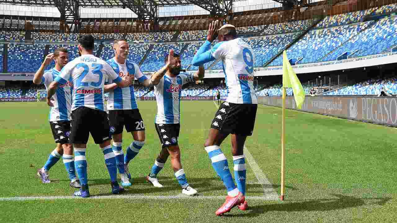 Napoli Cagliari highlights