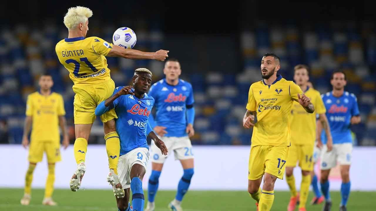 Napoli Verona highlights