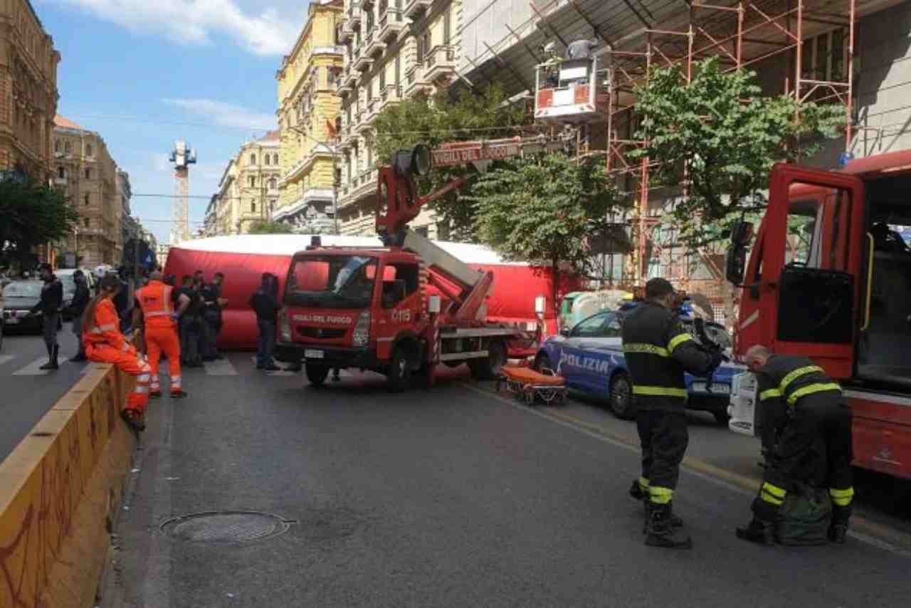 Napoli Corso Umberto Forcella