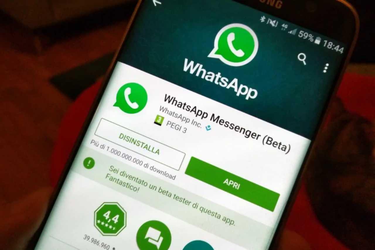 WhatsApp nuova Beta