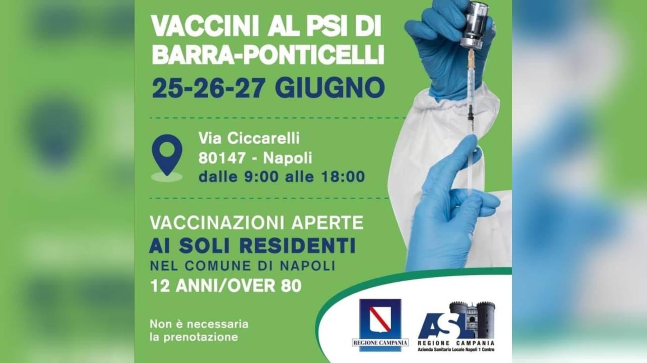 Vaccini Napoli