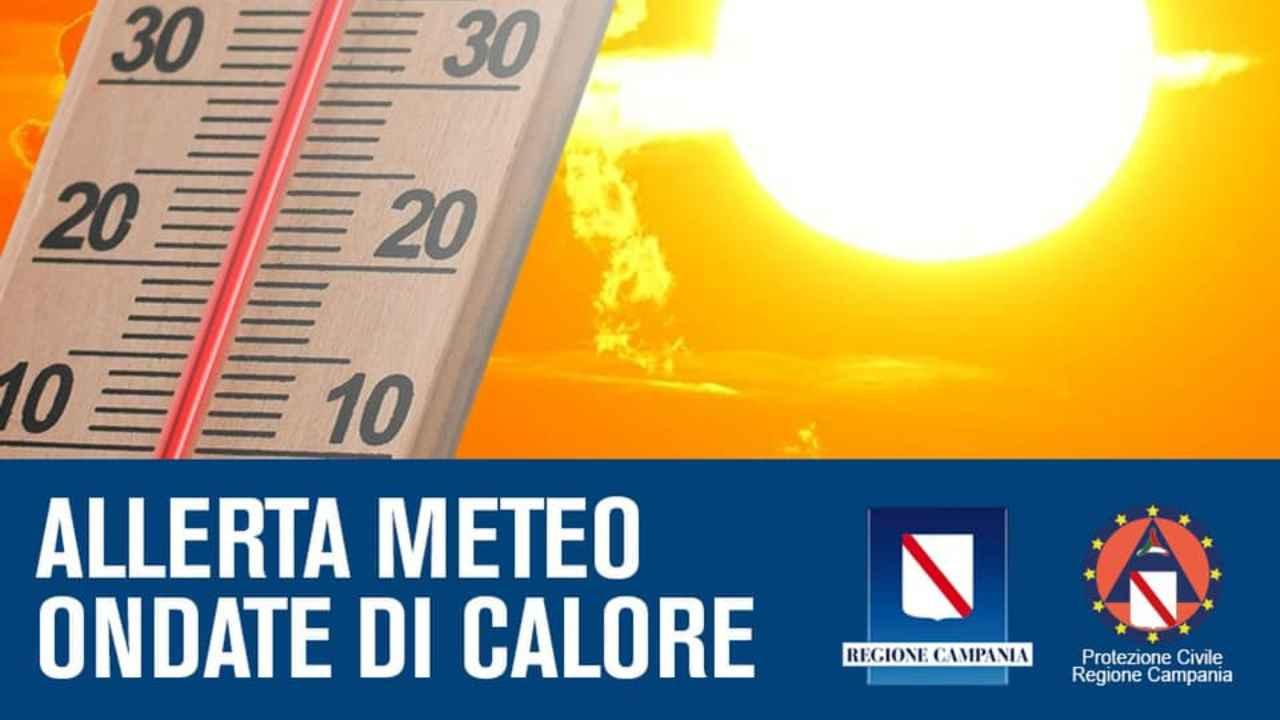 meteo Campania