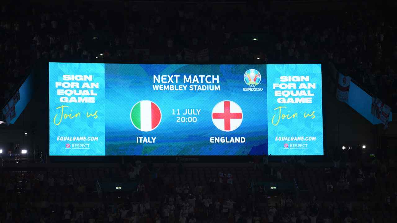 Italia Inghilterra formazioni