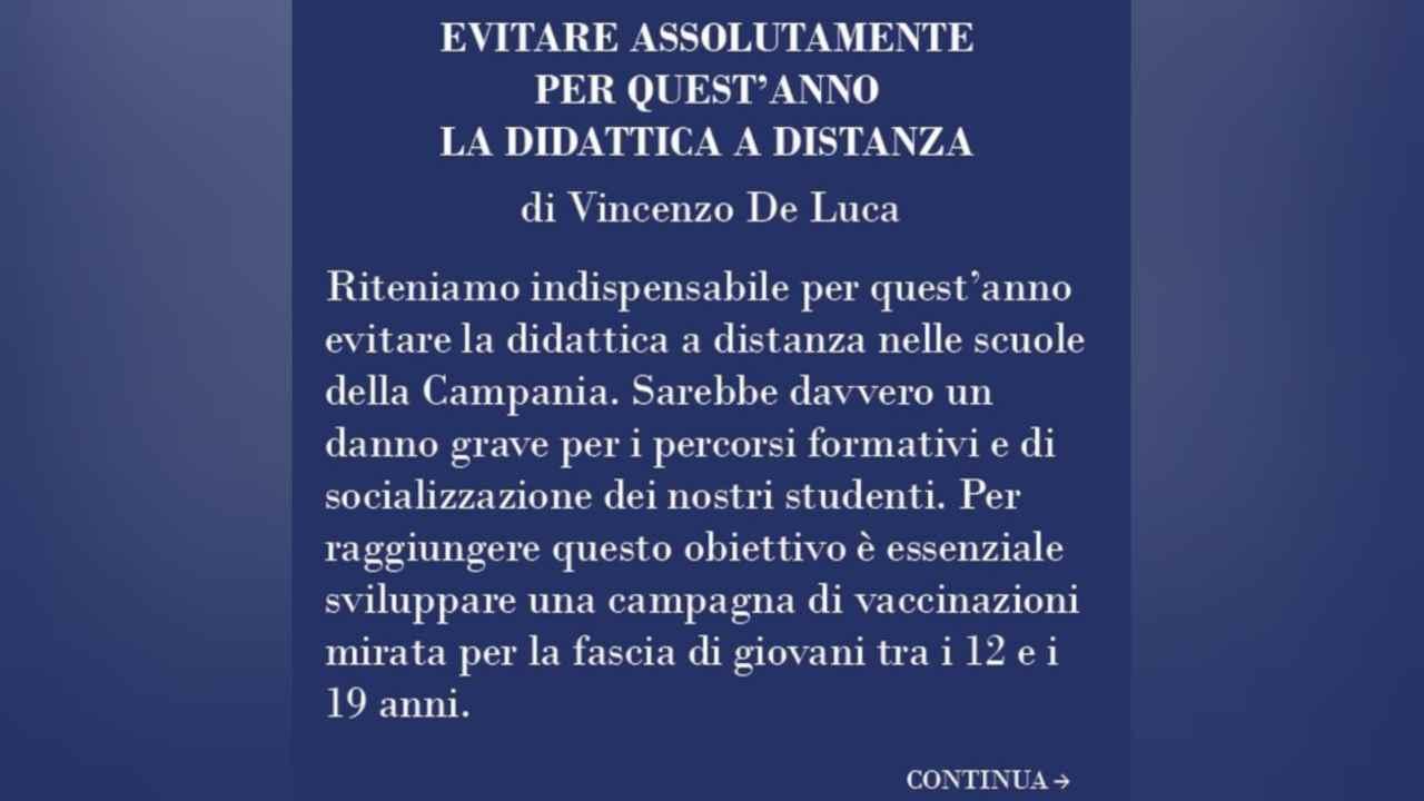 Scuola Campania