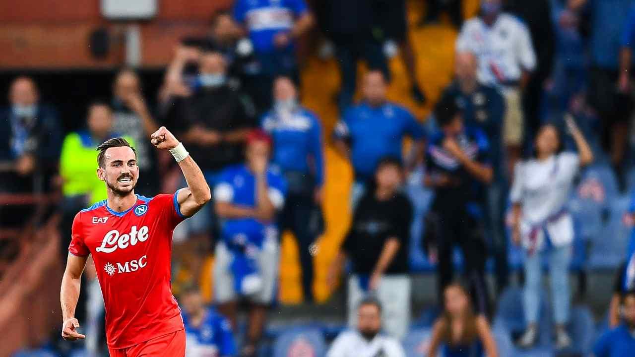 Sampdoria Napoli highlights