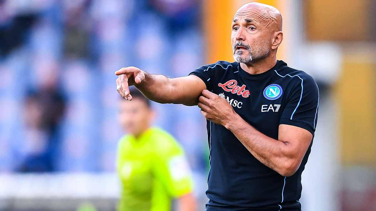 """Roma Napoli, Spalletti: """"Buona gara, era difficile. Rosso? Sono devastato"""""""