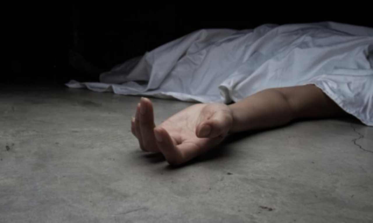 Mondragone cadavere