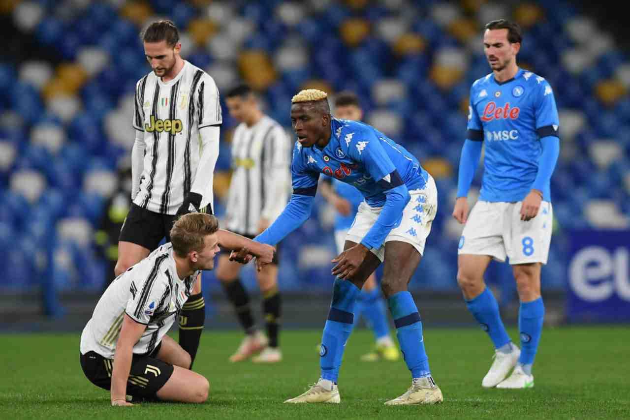 Plusvalenze sospette in Serie A: indagini su Napoli e Juventus
