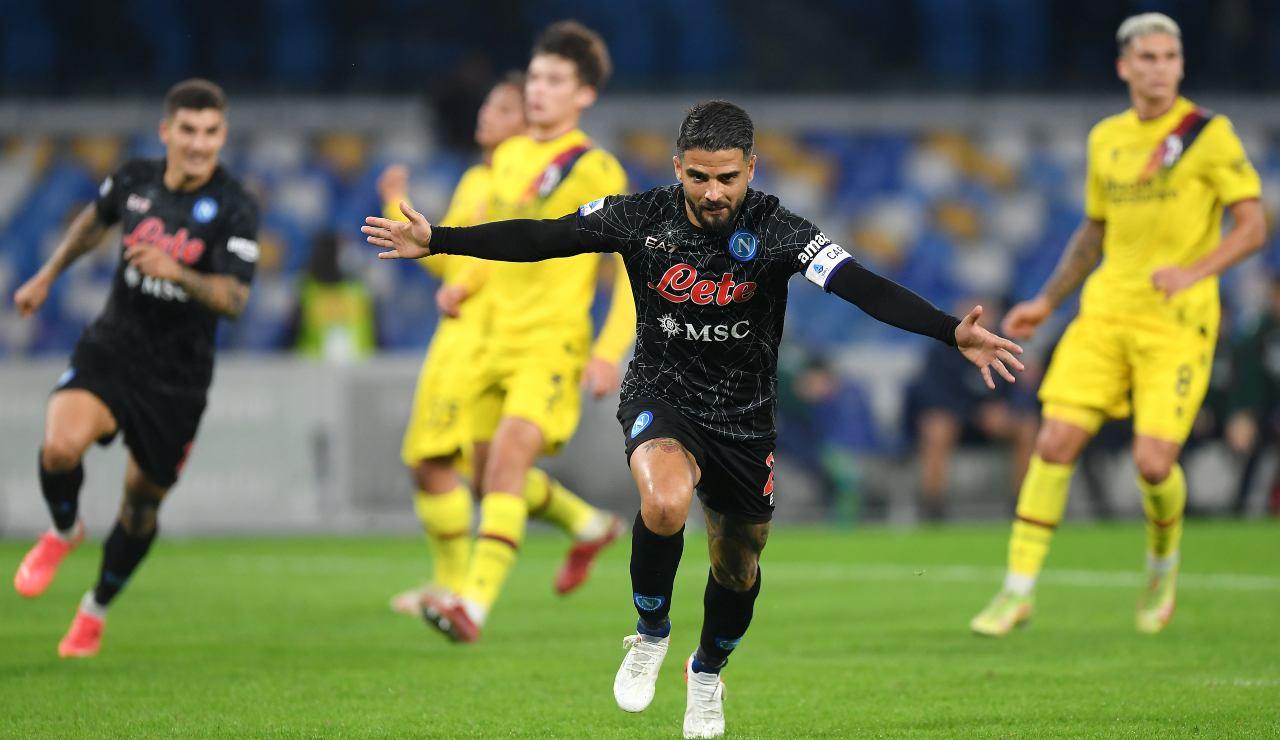 Napoli Bologna 3 0: highlights, pagelle e tabellino